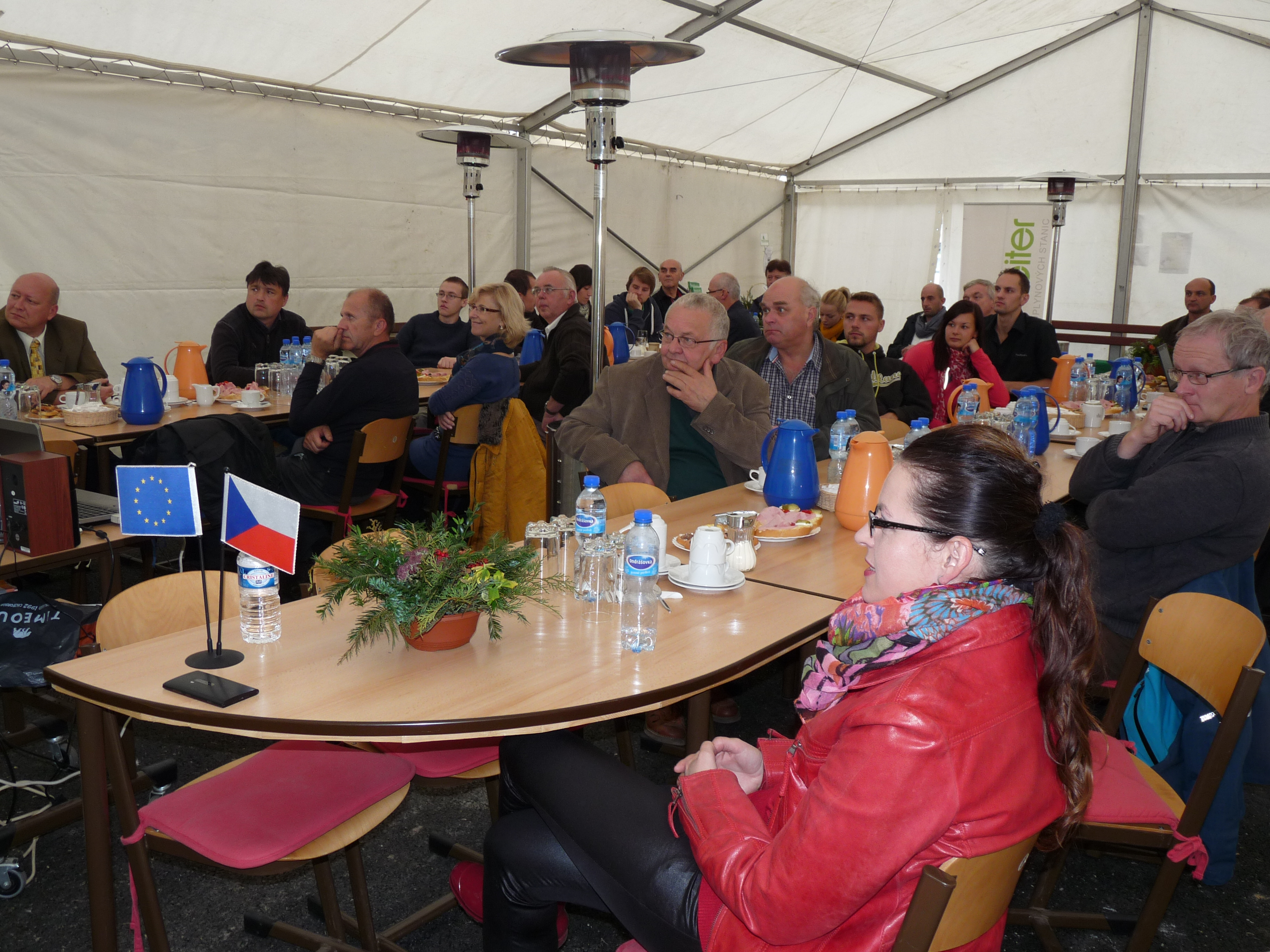 Otevření nové kompostovací plochy a bioplynové stanice Jarošovice