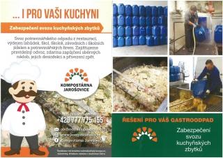 Zabezpečení svozu kuchyňských zbytků