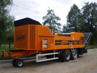 Technika pro zpracování biomasy z údržby veřejné zeleně
